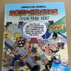 Cómics: MAGOS DEL HUMOR,ROMPETECHOS,N°128,1.ª EDICIÓN 2009. Lote 178807407
