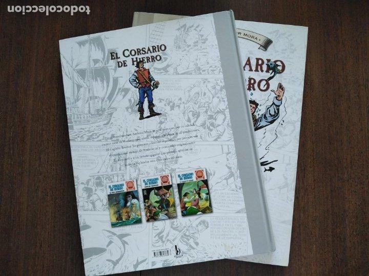 Cómics: TOMOS 3 Y 4 EL CORSARIO DE HIERRO FORMATO GRANDE BLANCO Y NEGRO - Foto 3 - 179067873