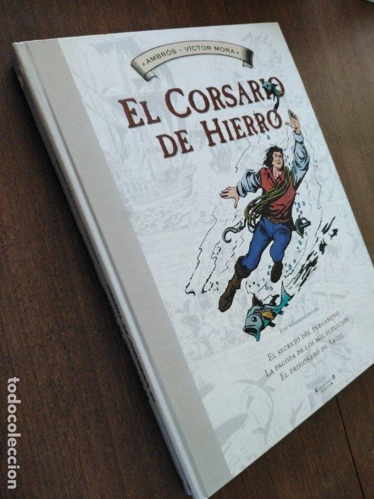 Cómics: TOMOS 3 Y 4 EL CORSARIO DE HIERRO FORMATO GRANDE BLANCO Y NEGRO - Foto 4 - 179067873