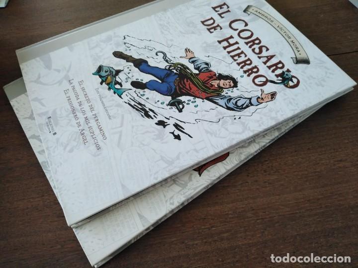 Cómics: TOMOS 3 Y 4 EL CORSARIO DE HIERRO FORMATO GRANDE BLANCO Y NEGRO - Foto 5 - 179067873