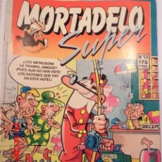 Cómics: SUPER MORTADELO - 13 - EDIT EDICIONES B - 1987. Lote 179126723