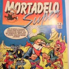 Cómics: SUPER MORTADELO - 6 - EDIT EDICIONES B - 1987. Lote 179126731