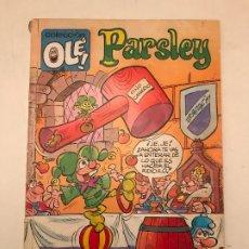 Cómics: COLECCION OLE Nº 358 V 10 PARSLEY. EDICIONES B 1ª EDICION 1989. Lote 179156778