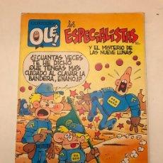 Cómics: COLECCION OLE Nº 349 V 6 LOS ESPECIALISTAS. EDICIONES B 1ª EDICION 1989. Lote 179156841