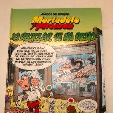 Cómics: MAGOS DEL HUMOR Nº 144. A RECICLAR SE HA DICHO. EDICIONES B 1ª EDICION 2011. Lote 179159850