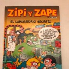 Cómics: ZIPI Y ZAPE DE ESCOBAR Nº 4. EL LABORATORIO SECRETO. TAPA DURA. EDICIONES B 2001. Lote 179197256
