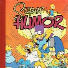 Cómics: SUPER HUMOR LOS SIMPSON N,1 EDICIONES B,1986. Lote 179245961