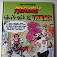 Cómics: MORTADELO Y FILEMON BAJO EL BRAMIDO DEL TRUENO! APARECEN DIBUJOS DEL CAPITAN TRUENO Y SUS AMIGOS. Lote 180125141