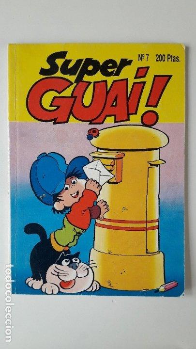 SUPERGUAI !!, Nº 7. (EDICIONES B, 1991). PERFECTO ESTADO, COMO NUEVO. (Tebeos y Comics - Ediciones B - Otros)