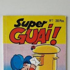 Cómics: SUPERGUAI !!, Nº 7. (EDICIONES B, 1991). PERFECTO ESTADO, COMO NUEVO.. Lote 180147265