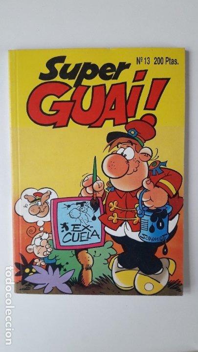 SUPERGUAI !!, Nº 13. (EDICIONES B, 1991). PERFECTO ESTADO, COMO NUEVO. (Tebeos y Comics - Ediciones B - Otros)