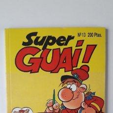 Cómics: SUPERGUAI !!, Nº 13. (EDICIONES B, 1991). PERFECTO ESTADO, COMO NUEVO.. Lote 180147336