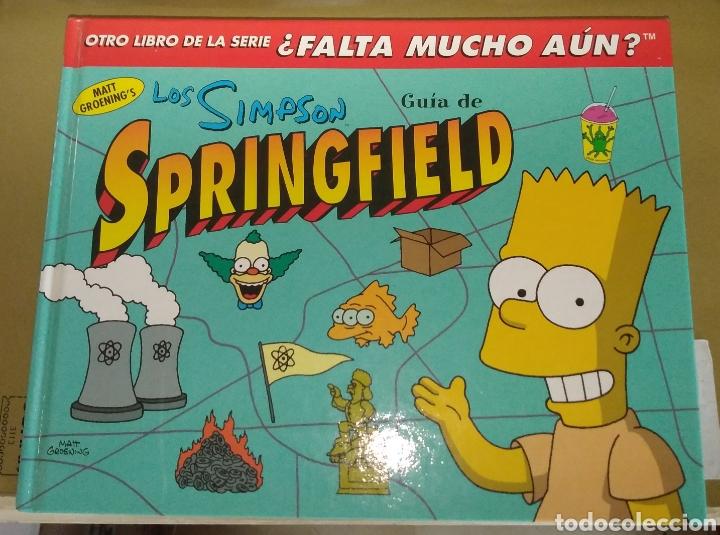 LOS SIMPSON. GUÍA DE SPRINGFIELD. PRIMERA EDICIÓN (Tebeos y Comics - Ediciones B - Otros)