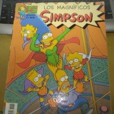 Cómics: LOS MAGNÍFICOS SIMPSON. NÚMERO 4. Lote 180245455