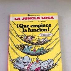 Cómics: LA JUNGLA LOCA Nº 2 QUE EMPIECE LA FUNCION. Lote 180246682