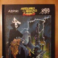Cómics: HORREIBOLS AND TERRIFICS BOOKS: DRÁCULA POR ALFONSO AZPIRI - FORGES - EDICIONES B. Lote 180287362