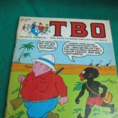 Cómics: TBO Nº 46. EDICIONES B. NOVIEMBRE 1991.. Lote 180339310