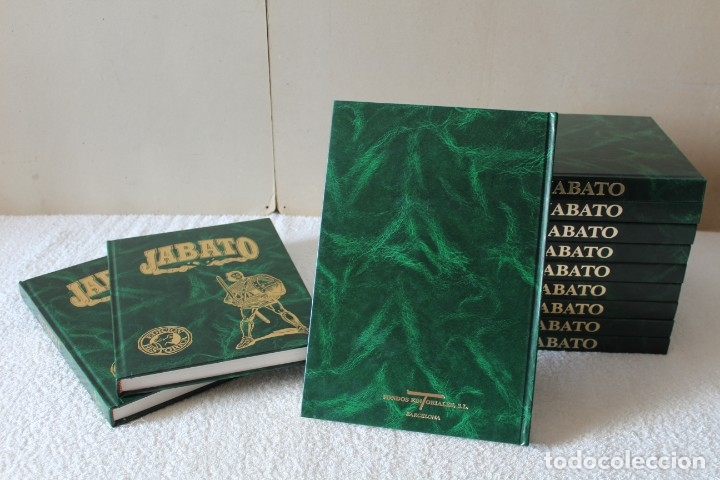 Cómics: EL JABATO: COLECCION COMPLETA 12 LUJOSOS TOMOS. EDICION HISTORICA - EDICIONES B (FONDOS EDITORIALES) - Foto 3 - 180342921