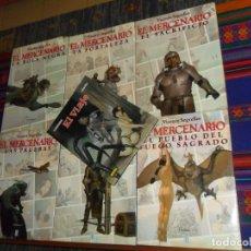 Cómics: EL MERCENARIO NºS 1 2 3 4 5 6 COMPLETA. VICENTE SEGRELLES. EDCIONES B 1ª ED 1993. REGALO EL VIAJE.. Lote 180448592