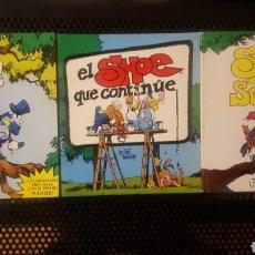 Cómics: LOTE COMICS - SHOE - JEFF MACNELLY - TOMO Nº 1 2 Y 3, COMPLETA - EDICIONES B - PREMIO PULITZER. Lote 180895197
