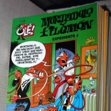 Comics: MORTADELO Y FILEMÓN ,COLECCIÓN OLÉ ,Nº 135: EXPEDIENTE J. (COMO NUEVO Y REBAJADO). Lote 181217686