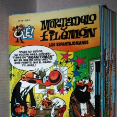 Comics : MORTADELO Y FILEMÓN ,COLECCIÓN OLÉ ,Nº 33: LOS ESPANTAJOMANES. (COMO NUEVO Y REBAJADO). Lote 181410896