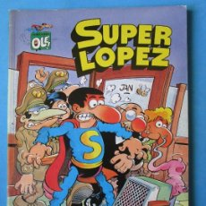 Cómics: SUPER LOPEZ Nº 4 ''LOS ALIENIGENAS'' EDICIONES B. - 1ª EDICIÓN 1988 ''BUEN ESTADO''. Lote 181512740