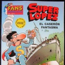 Cómics: SUPER LOPEZ Nº 38 - EL CASERÓN FANTASMA - EDICIONES B - 1ª EDICIÓN 2003'' MUY BUEN ESTADO''. Lote 182002397