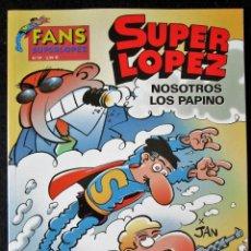 Cómics: SUPER LOPEZ Nº 39 - NOSOTROS LOS PAPINO - EDICIONES B - 1ª EDICIÓN 2003 ''MUY BUEN ESTADO''. Lote 182002531