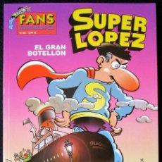Cómics: SUPER LOPEZ Nº 40 - EL GRAN BOTELLÓN - EDICIONES B - 1ª EDICIÓN 2003'' MUY BUEN ESTADO''. Lote 182002635