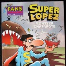 Cómics: SUPER LOPEZ Nº 42 - MONSTER CHAPAPOTE - EDICIONES B - 1ª EDICIÓN 2003 ''MUY BUEN ESTADO'. Lote 182002905