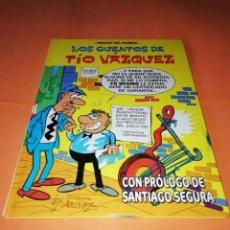 Cómics: LOS CUENTOS DE TIO VAZQUEZ. CON PROLOGO DE SANTIAGO SEGURA. MAGOS DEL HUMOR Nº 138. BUEN ESTADO. Lote 182066383