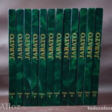 Cómics: COLECCIÓN COMPLETA EL JABATO EN 12 LUJOSOS TOMOS EDICIÓN HISTÓRICA, EDICIONES B. Lote 182068193