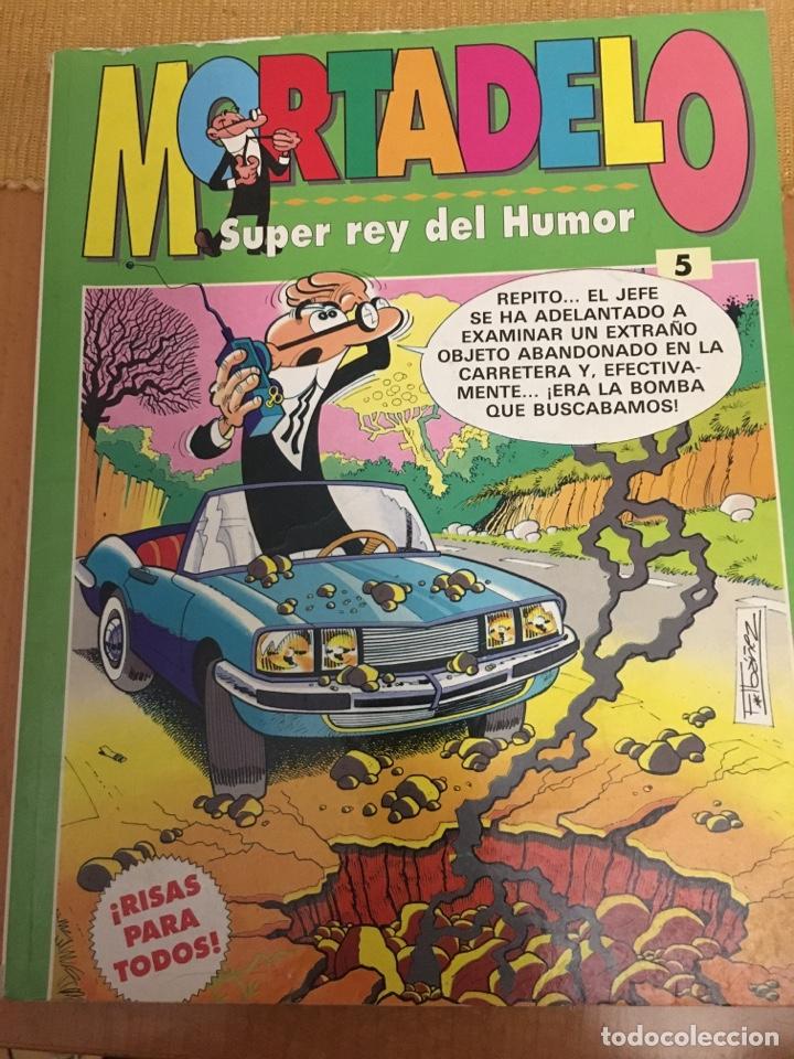 MORTADELO Y FILEMÓN . SUPER REY DEL HUMOR MUM 5 (Tebeos y Comics - Ediciones B - Humor)