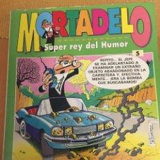 Cómics: MORTADELO Y FILEMÓN . SUPER REY DEL HUMOR MUM 5. Lote 182236431