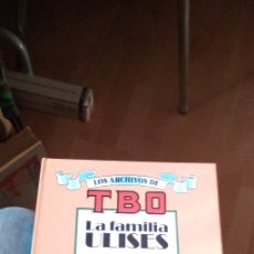 Cómics: LOS ARCHIVOS DE TBO Nº 1. LA FAMILIA ULISES. TAPA DURA 1990. Lote 182346633
