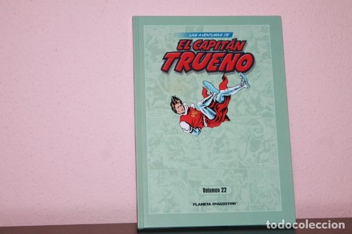 LAS AVENTURAS DE CAPITAN TRUENO NUMERO 22 EDITORIAL PLANETA DEAGOSTINI (Tebeos y Comics - Ediciones B - Clásicos Españoles)