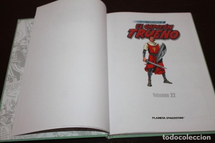 Cómics: las aventuras de capitan trueno numero 22 editorial planeta deagostini - Foto 2 - 182431982