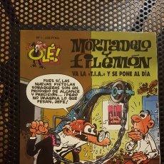 Cómics: OLE - LOTE MORTADELO DEL 1 AL 39 - PRIMERA EDICIÓN - PORTADAS EN RELIEVE (NUMERO 20 NO INCLUIDO). Lote 126840851