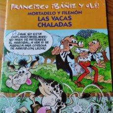 Cómics: MORTADELO Y FILEMON, LAS VACAS CHALADAS - FRANCISCO IBAÑEZ Y OLE! - EDICIONES B 2001. Lote 182574470