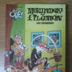 Cómics: F. IBÁÑEZ - COLECCIÓN OLÉ EDICIONES B - MORTADELO Y FILEMÓN Nº 53 - LOS BOMBEROS. Lote 182685188
