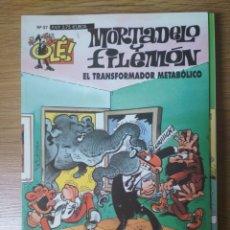 Cómics: F. IBÁÑEZ - COLECCIÓN OLÉ EDICIONES B - MORTADELO Y FILEMÓN Nº 57 - EL TRANSFORMADOR METABÓLICO. Lote 182685370