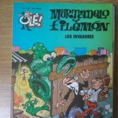 Cómics: F. IBÁÑEZ - COLECCIÓN OLÉ EDICIONES B - MORTADELO Y FILEMÓN Nº 69 - LOS INVASORES. Lote 182685496