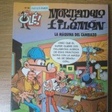 Cómics: F. IBÁÑEZ - COLECCIÓN OLÉ EDICIONES B - MORTADELO Y FILEMÓN Nº 96 - LA MÁQUINA DEL CAMBIAZO. Lote 182685777