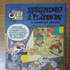 Cómics: F. IBÁÑEZ - COLECCIÓN OLÉ EDICIONES B - MORTADELO Y FILEMÓN Nº 174 - EL KAMIKAZE REGÚLEZ. Lote 182686477