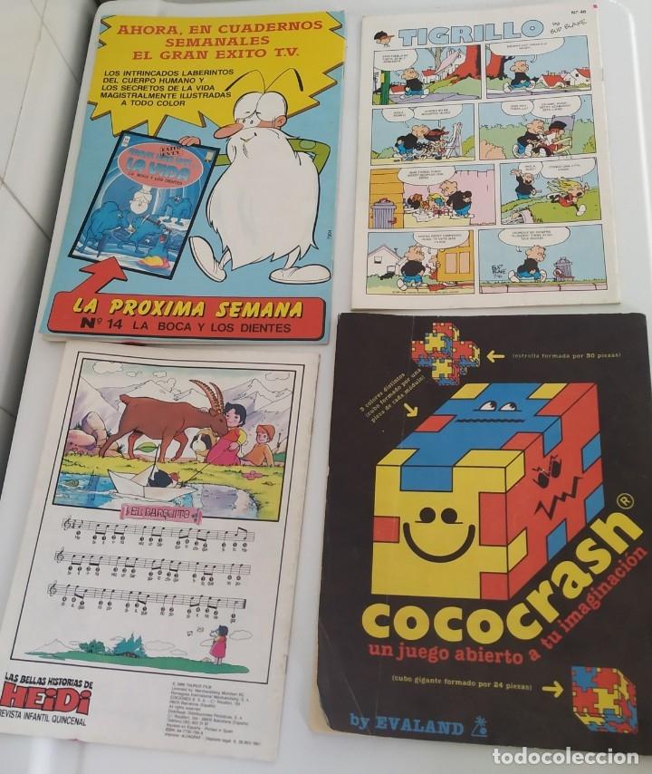 Cómics: Lote de 4 tebeos: Heidi, TBO, Zipi y Zape, Érase.. - Foto 2 - 182741833