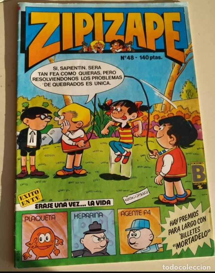 Cómics: Lote de 4 tebeos: Heidi, TBO, Zipi y Zape, Érase.. - Foto 6 - 182741833