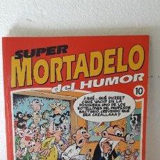 Cómics: SUPER MORTADELO DEL HUMOR, VOLUMEN 10. PERFECTO ESTADO.. Lote 182842462
