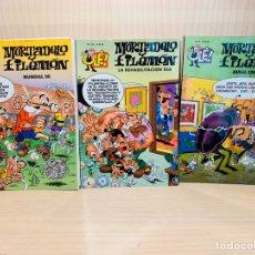 Cómics: TRES CÓMICS OLE!. MORTADELO Y FILEMÓN EDICIONES B. Lote 182860680