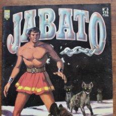 Cómics: CÓMIC JABATO AÑO 1987 Nº 3 EDICIÓN HISTÓRICA DE EDICIONES B. Lote 182979218